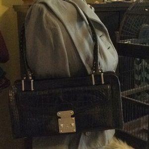 Antonio Melani Leather Satchel